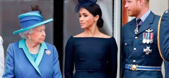 Meghan Markle Ve Prens Harry'nin Resmen Kraliyet Görevini Bırakma Tarihi Belli Oldu