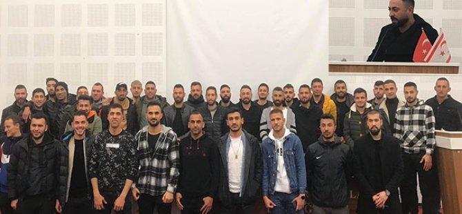 Futbolcular Derneği'nde Başkan Kaan Güder..!