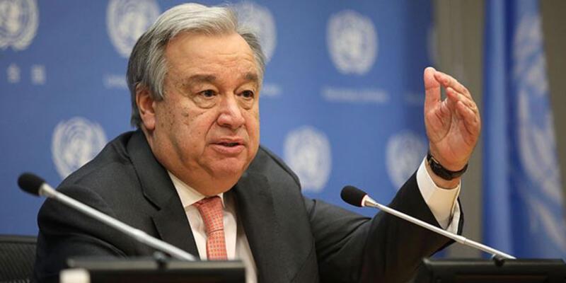 """Guterres: """"Kıbrıs sorununa çözüm bulunmaması """"gittikçe sürdürülemez"""" oluyor"""""""