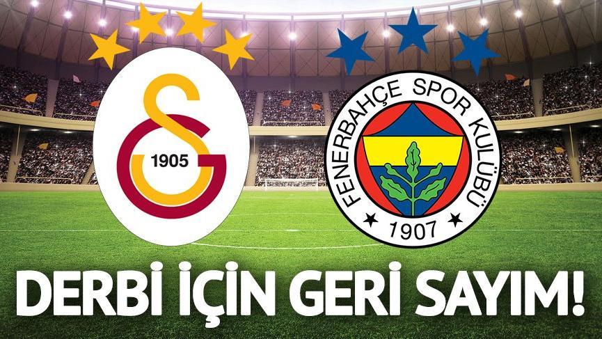 Fenerbahçe - Galatasaray derbi maçı ne zaman, saat kaçta, hangi kanalda?
