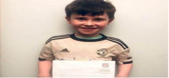 10 yaşındaki Manchester United taraftarı, Liverpool teknik direktörü Klopp'a mektup yazdı: Lütfen bir sonraki maçı kaybedin
