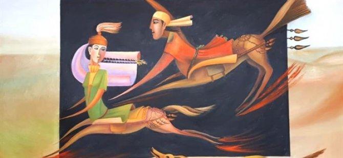 Kazakistanlı Yedi Sanatçıdan Kıbrıs Modern Sanat Müzesi'nde Karma Sergi