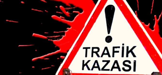 Araç Kayıt önündeki ışıklarda kaza