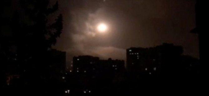SANA: Suriye hava savunması, Şam semalarındaki 'düşman hedeflere' karşılık verdi