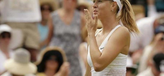 Şarapova 32 yaşında tenisi bıraktı