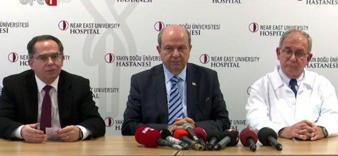 Başbakan Tatar: Hastaların bakımları en iyi koşullarda devam ediyor