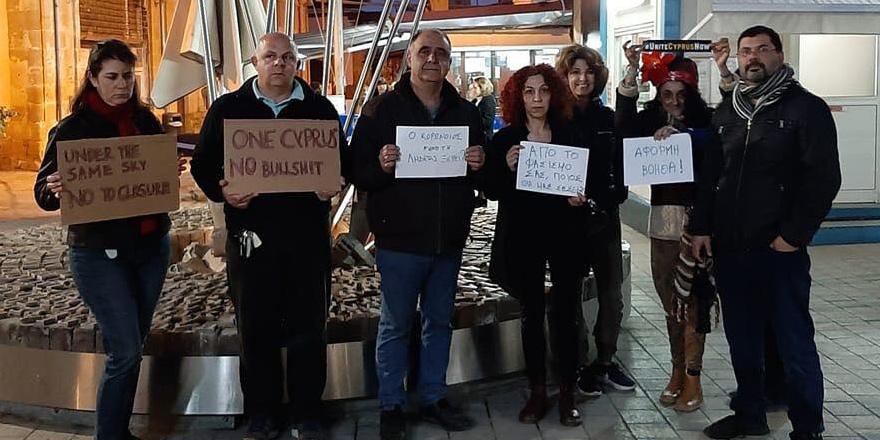 Lokmacı kapısının kapatılması protesto edildi