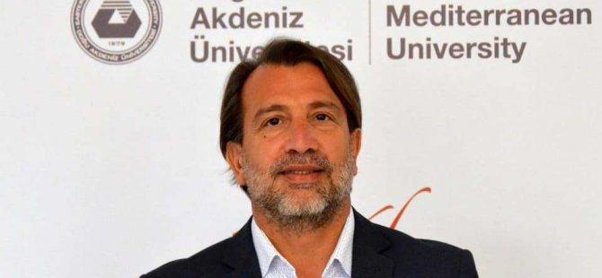 Prof. Ahmet Sözen DAÜ Rektörlüğüne aday olduğunu açıkladı