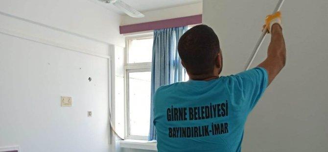 Girne Belediyesi  hastaneye yardımda bulundu