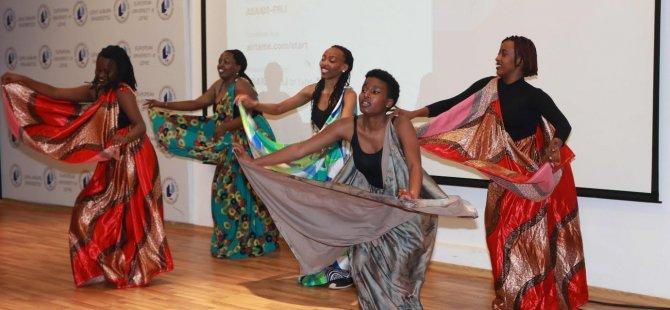LAÜ'de Kıbrıs ve Uluslararası Kültür Gecesi düzenlendi