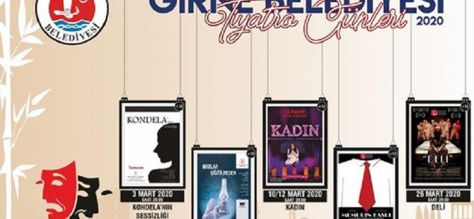 Girne Belediyesi'nin Tiyatro Günleri Etkinlikleri sürüyor