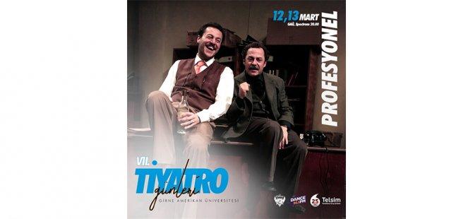 GAÜ 7. Tiyatro Günleri, 12 Mart Perşembe günü başlıyor