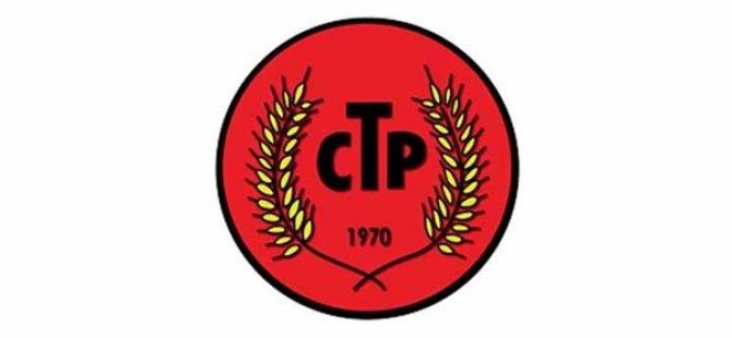 """CTP: """"Emekçi haklarının budanmasına asla göz yummayacağız"""""""