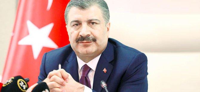 TC Sağlık Bakanı Kovid-19 hastalarının tedavi süreci hakkında bilgi aldı