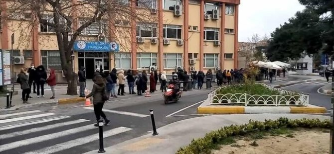 İstanbul'da koronavirüs testi kuyruğu