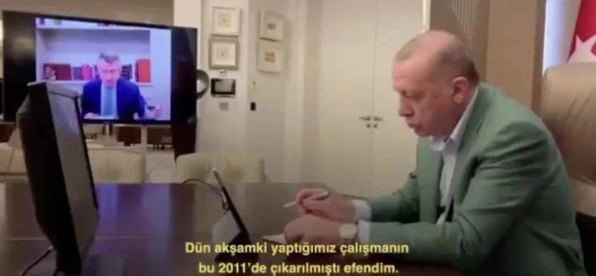 TC Cumhurbaşkanı Erdoğan, Koronavirüs İle Mücadele Konusunda Bakanlar İle Son Gelişmeleri Değerlendirdi