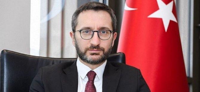 TC İletişim Başkanı Altun'dan koronavirüsle mücadele paylaşımı