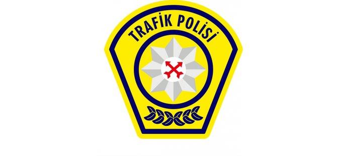 Trafikte 1 Haftada 24 Araç Sürücüsü Rapor Edildi, 13 Kaza Meydana Geldi
