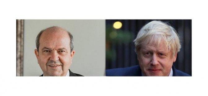 Tatar, İngiltere Başbakanı Johnson'a geçmiş olsun dileğinde bulundu