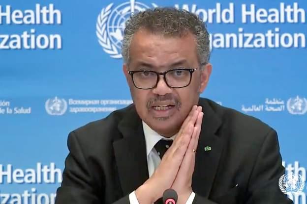 WHO Başkanı Ghebreyesus: Koronavirüsü politikaya alet etmeyin