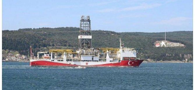Türkiye'nin ilk yerli sondaj gemisi 'Fatih', İstanbul'a ulaştı