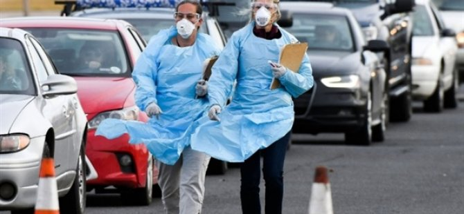 İtalya'da Kovid-19'dan Ölenlerin Sayısı 17 Bin 669'a Yükseldi