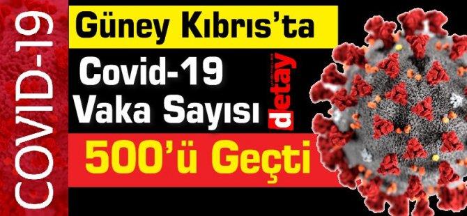 Güney Kıbrıs'ta Covid-19 Vaka Sayısı 500'ü Geçti