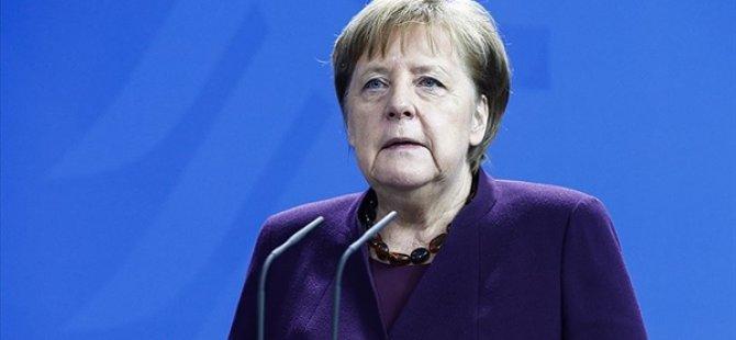 Almanya Başbakanı Merkel: Daha önce hiç görmediğimiz ekonomik zorluklar yaşıyoruz