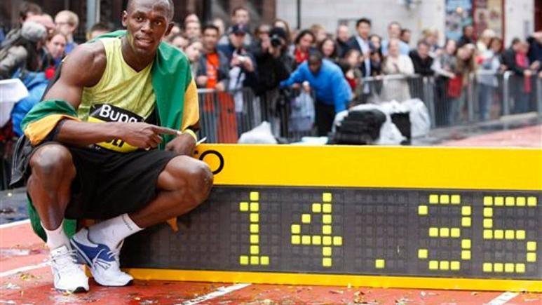Olimpiyat rekortmeni atlet Usain Bolt'tan kinayeli 'sosyal mesafe' paylaşımı