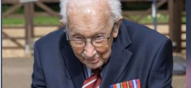 99 yaşında, evinin bahçesinde turlayarak 2 milyon sterlin bağış topladı