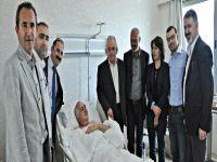 Arslan Mengüç'e ziyaretler devam ediyor