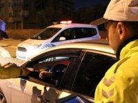 77 Araç Sürücüsünde İleri İşleme Gidilirken, 1 Araç Trafikten Men Edildi!