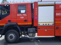 Yenierenköy'de yangın