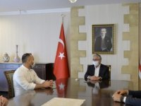 Cumhurbaşkanı Akıncı, KTAMS heyetini kabul etti