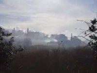 Girne Edremit bölgesinde yangın!