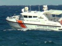 Dalgalara kapılan iki genç Sahil Güvenlik ekipleri tarafından aranıyor!