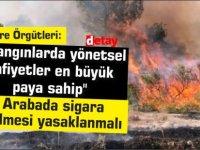 """Çevre Örgütleri: """"Arabada sigara içilmesi yasaklanmalı"""""""