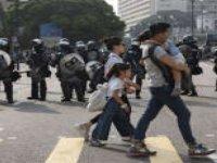 """Hong Kong'un lideri Çin'in """"ulusal güvenlik yasasını"""" savundu"""