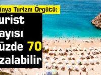 Dünya Turizm Örgütü: Turist sayısı yüzde 70 azalabilir