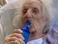 103 yaşında Koronayı yendi, bira istedi