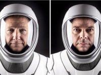 SpaceX: Nasa astronotlarını taşıyan Crew Dragon uzay aracı fırlatıldı