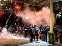 George Floyd protestoları: ABD'de birçok kentte sokağa çıkma yasağı ilan edildi
