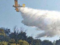 KKTC'deki yangına müdahale eden Rum pilot izlenimlerini anlattı