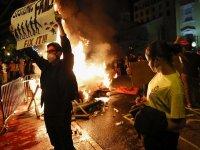 Beyaz Saray önündeki George Floyd protestoları çatışmalara sahne oldu