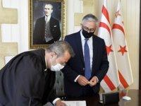 Altıncık Cumhurbaşkanı Akıncı huzurunda yemin ederek Başsavcılık görevine resmen başladı