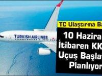 Türkiye Ulaştırma Bakanı: 10 Haziran'dan İtibaren KKTC Dahil 40 Ülkeye Kademeli Olarak Uçuş Başlatmayı Planlıyoruz