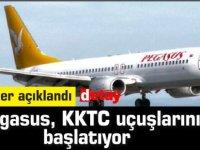 Pegasus, KKTC uçuşlarına başlıyor...Tarihler açıklandı