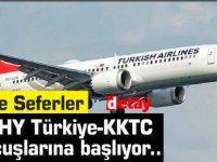 THY Türkiye-KKTC Uçuşlarına başlıyor...İşte seferler