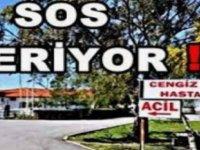 KAMUSEN, KTHES ve KTAMS perşembe günü Cengiz Topel Hastanesinde eylem yapacak