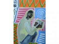 Sanatçı Kanat Bukezhanov, üç eserini sanatseverlerın beğenisıne sundu